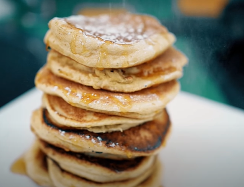 recette pancakes prise de masse coaching musculation proteine seche diete