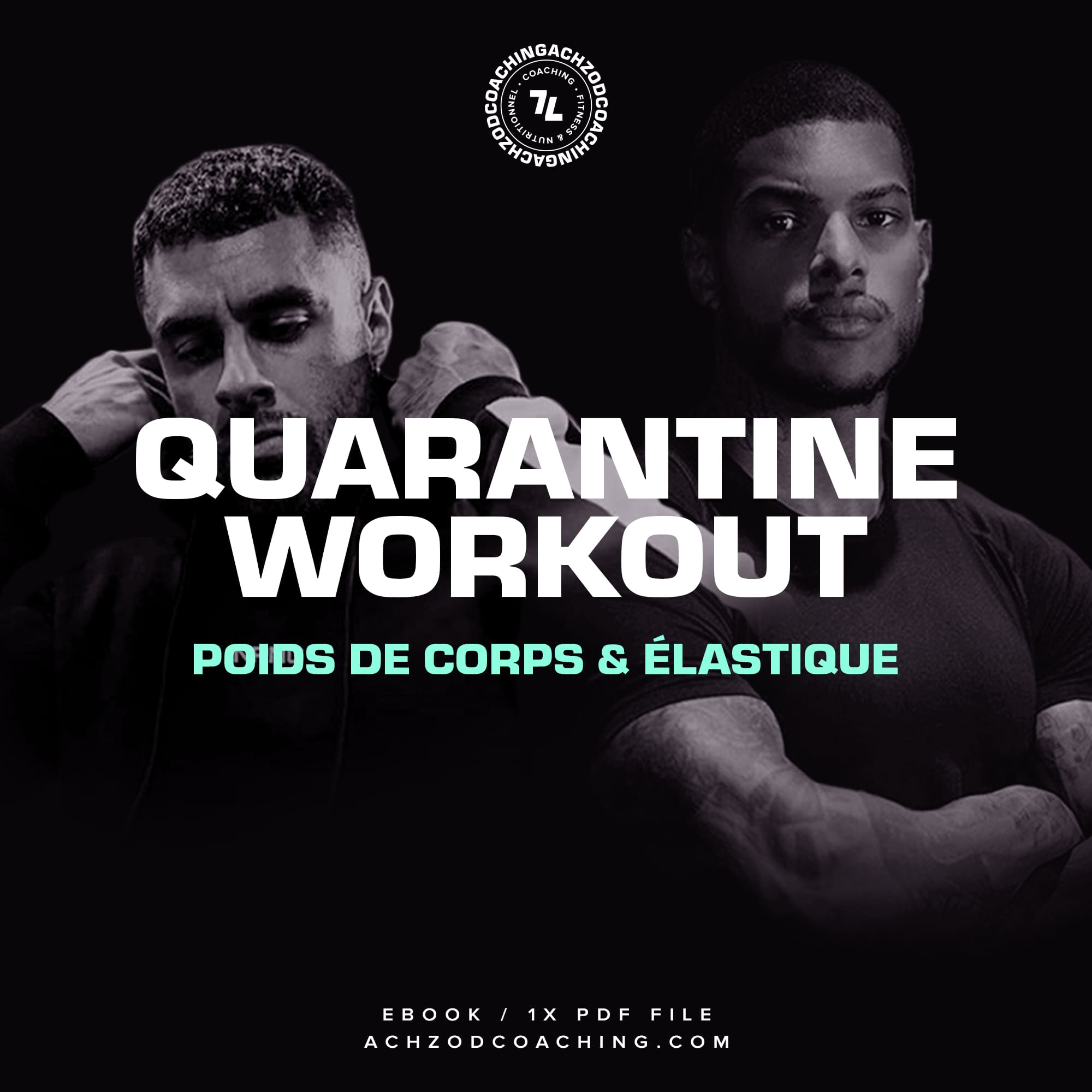 quarantine workout ebook cover