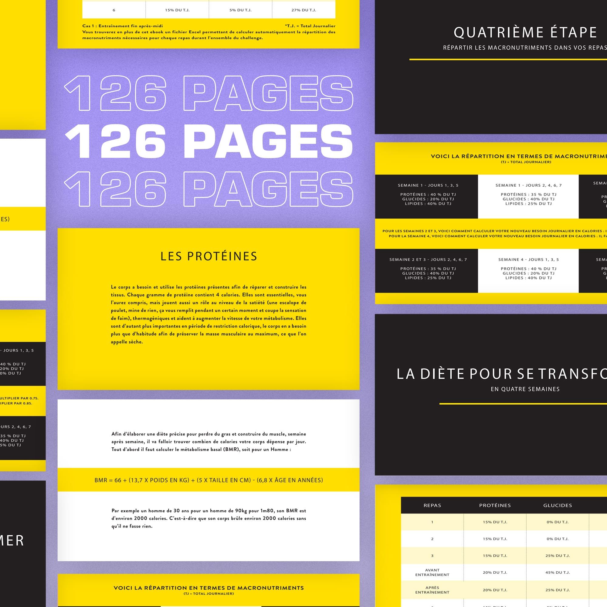 quarantine workout ebook 61 pages