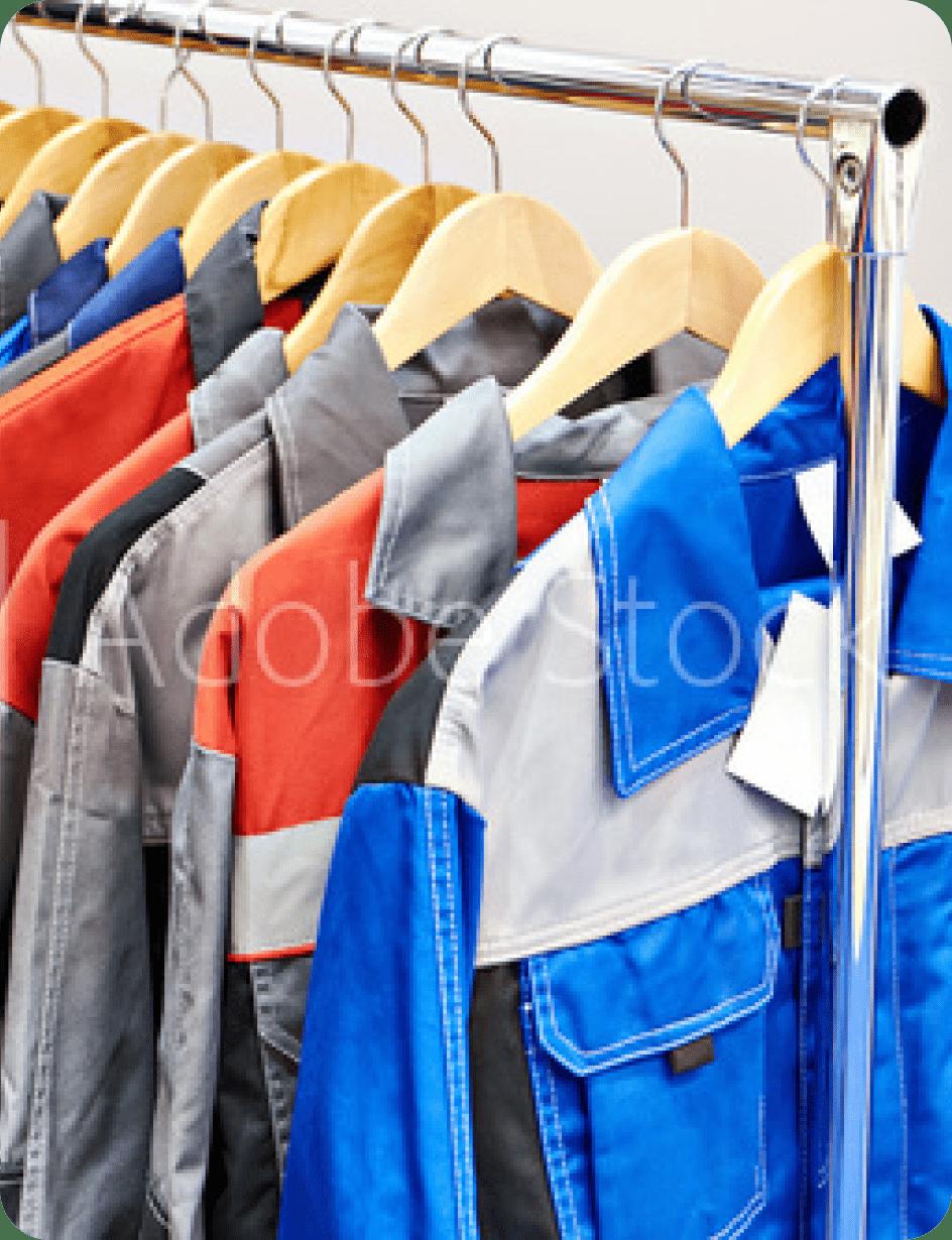startup workwear retailer pos