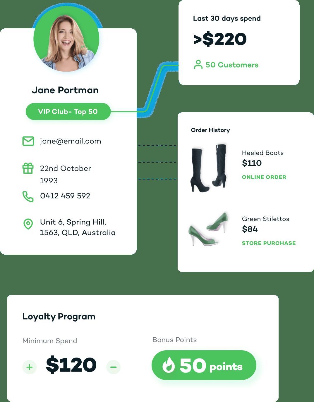 pos system for startup footwear retailer
