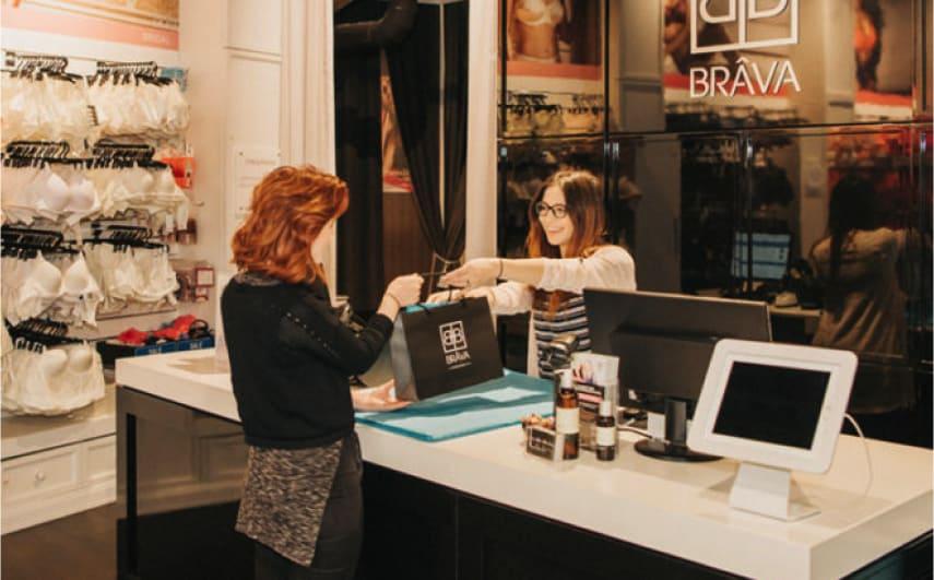 Brava Lingerie POS Case Study