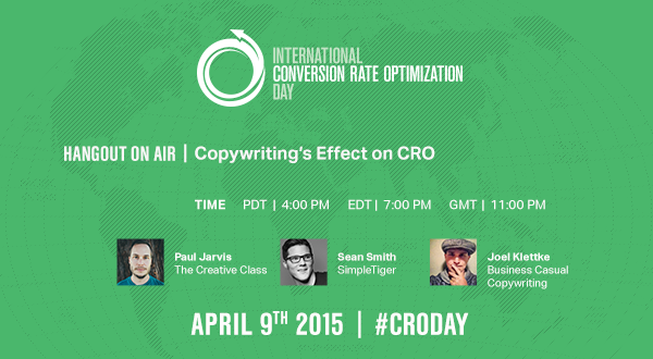 #CRODay by Unbounce – Content Spotlight #007