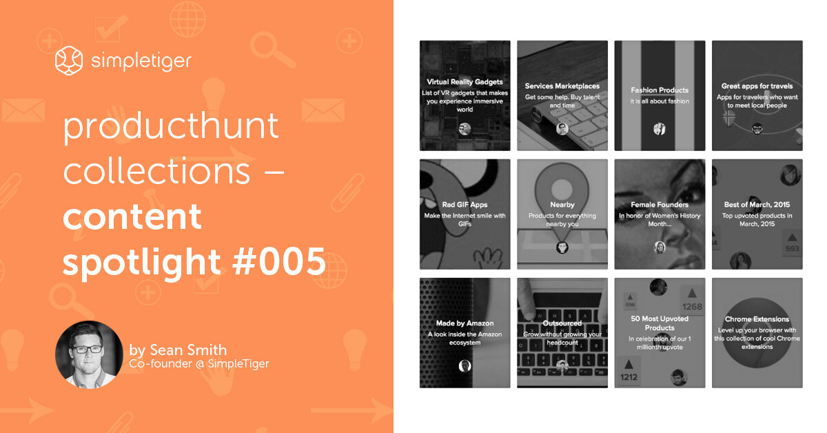 ProductHunt Collections – Content Spotlight #005
