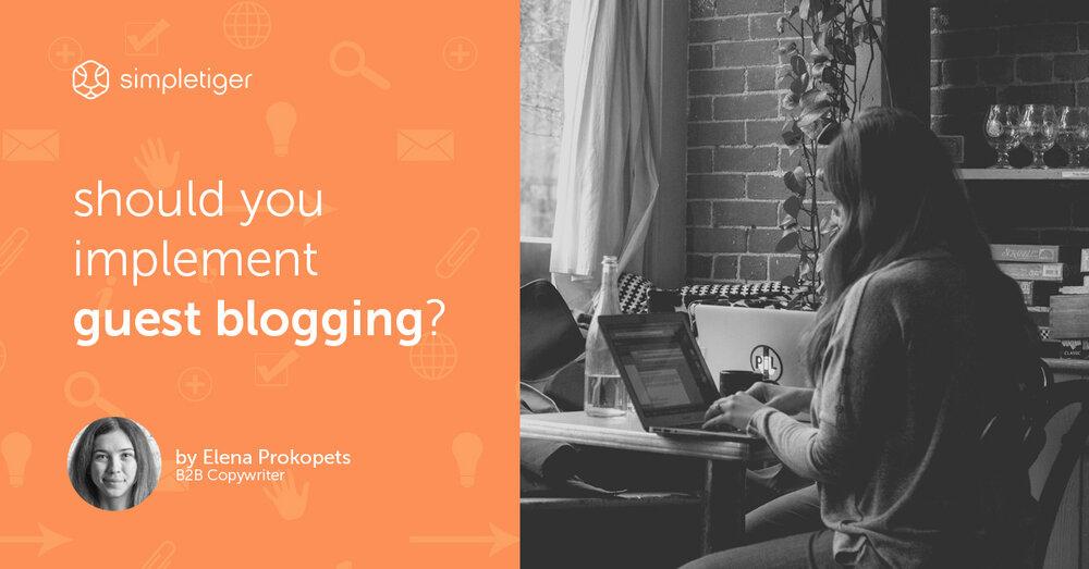 Should You Implement Guest Blogging?