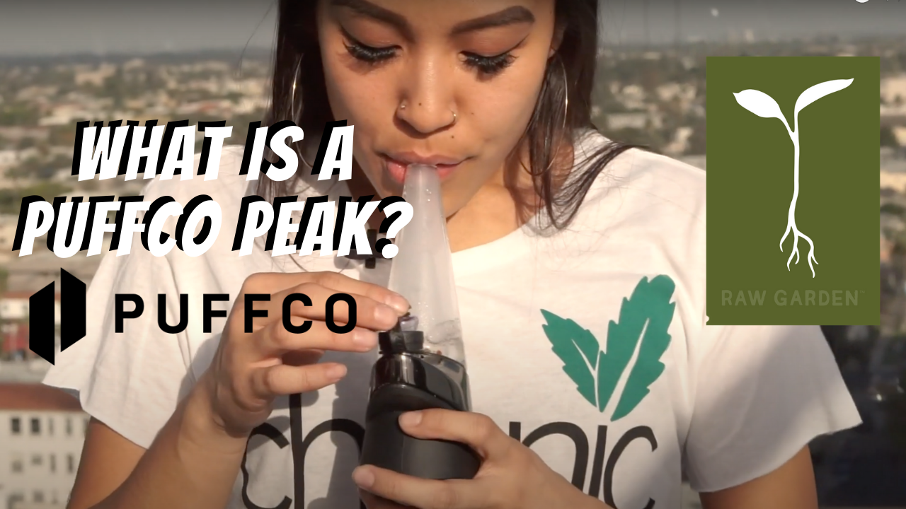 What is a Puffco Peak ft. Guava Glue from Raw Garden