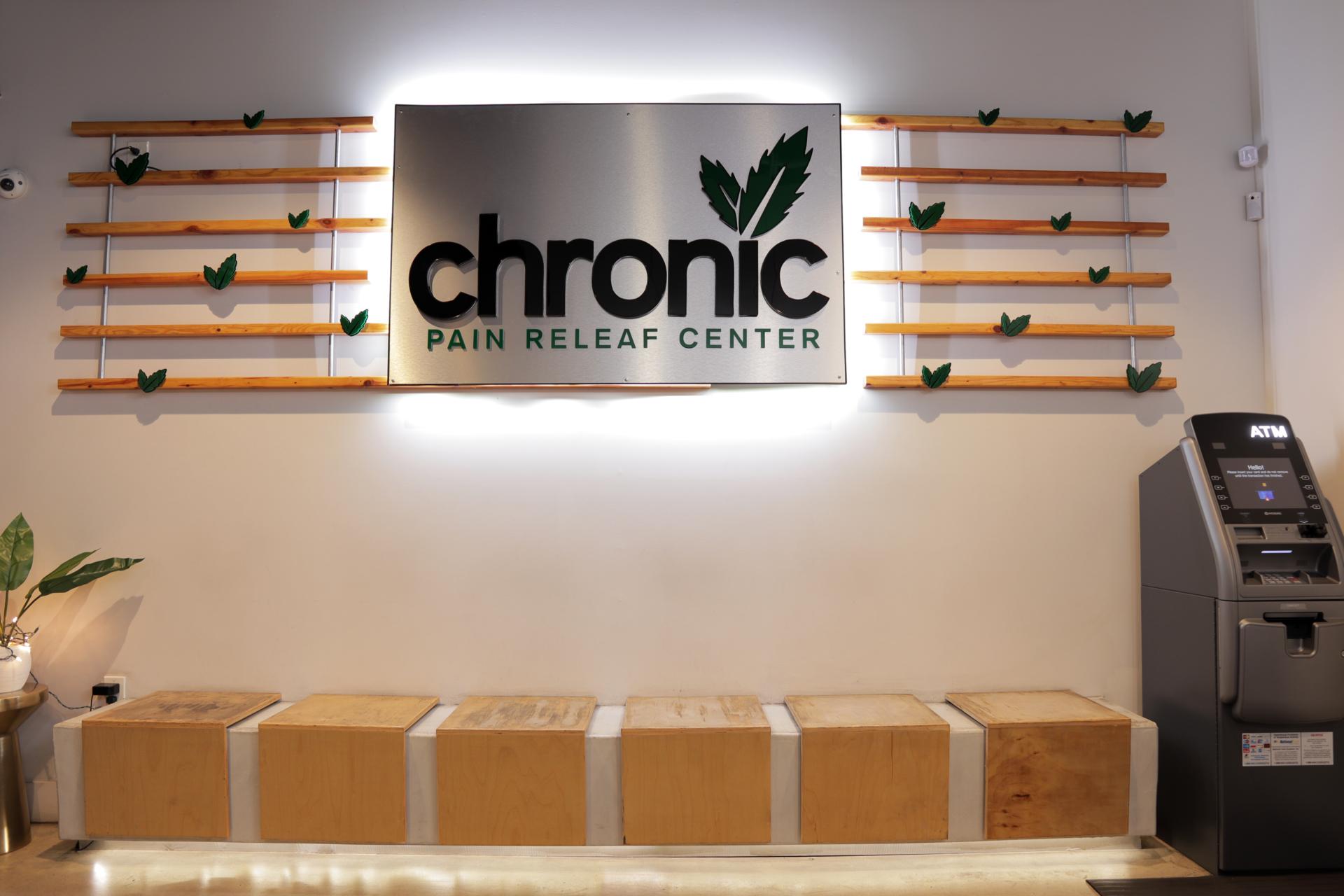 Chronic LB Lobby Sign
