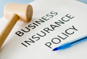 A business insurance policy