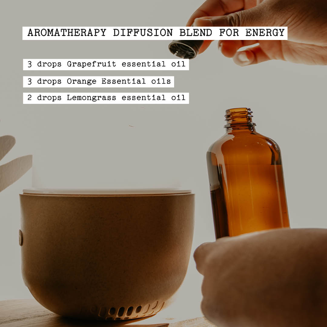 aromatherapy diffusion blend for energy