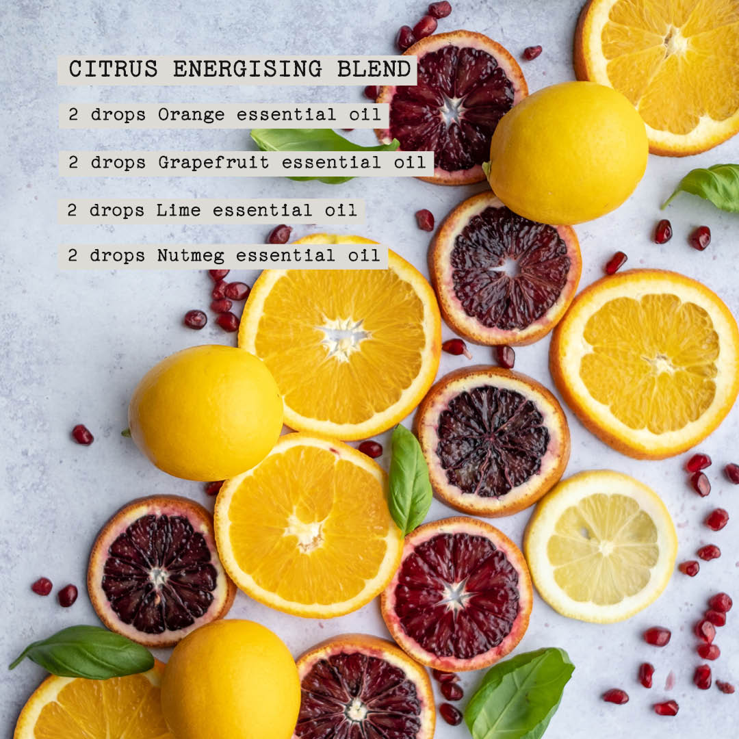 Citrus Energising Blend Recipes by LabAroma