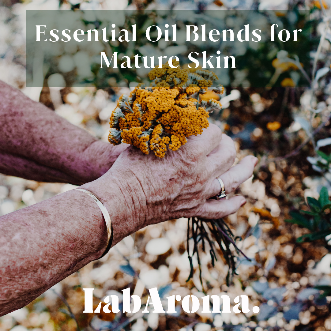 Essential Oil Blends for Mature Skin by LabAroma