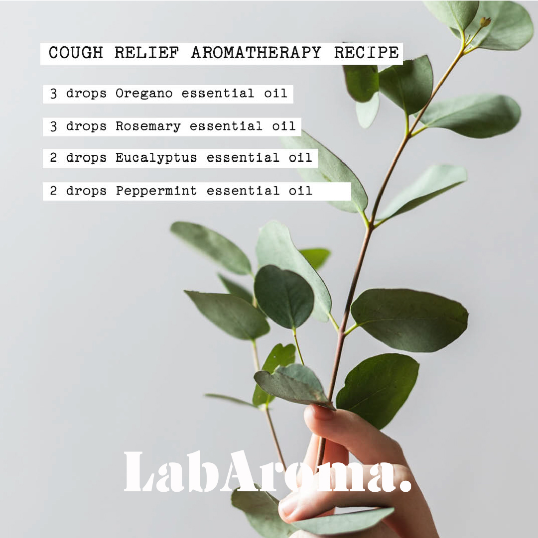 Cough Relief Aromatherapy Recipe by LabAroma