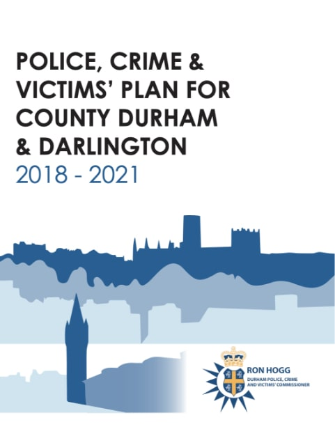 Police, Crime & Victims plan front cover
