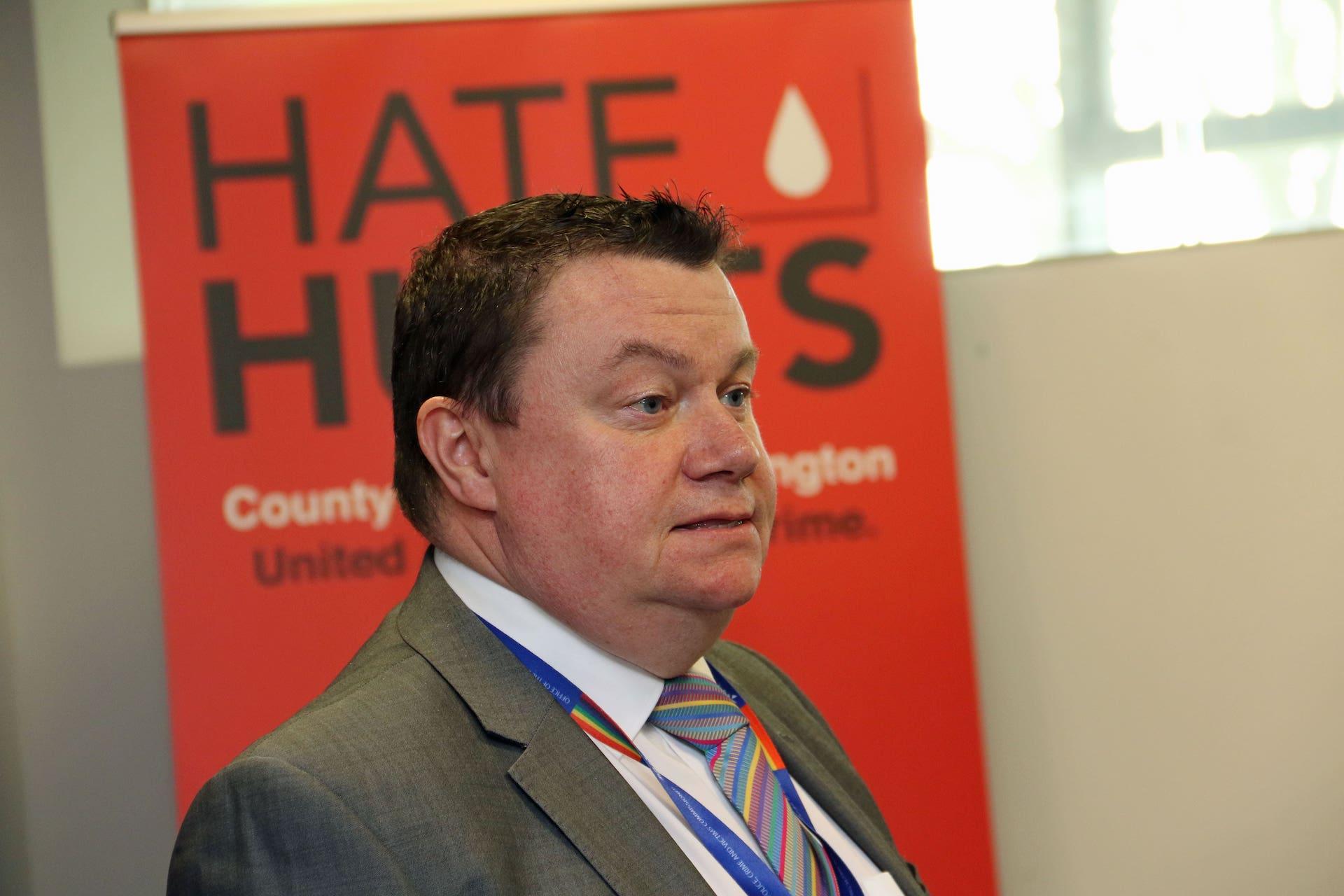 Steve White Hate Hurts Campaign