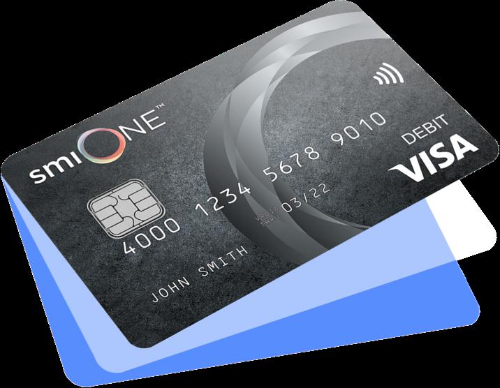 smiONE™ Visa Prepaid Card