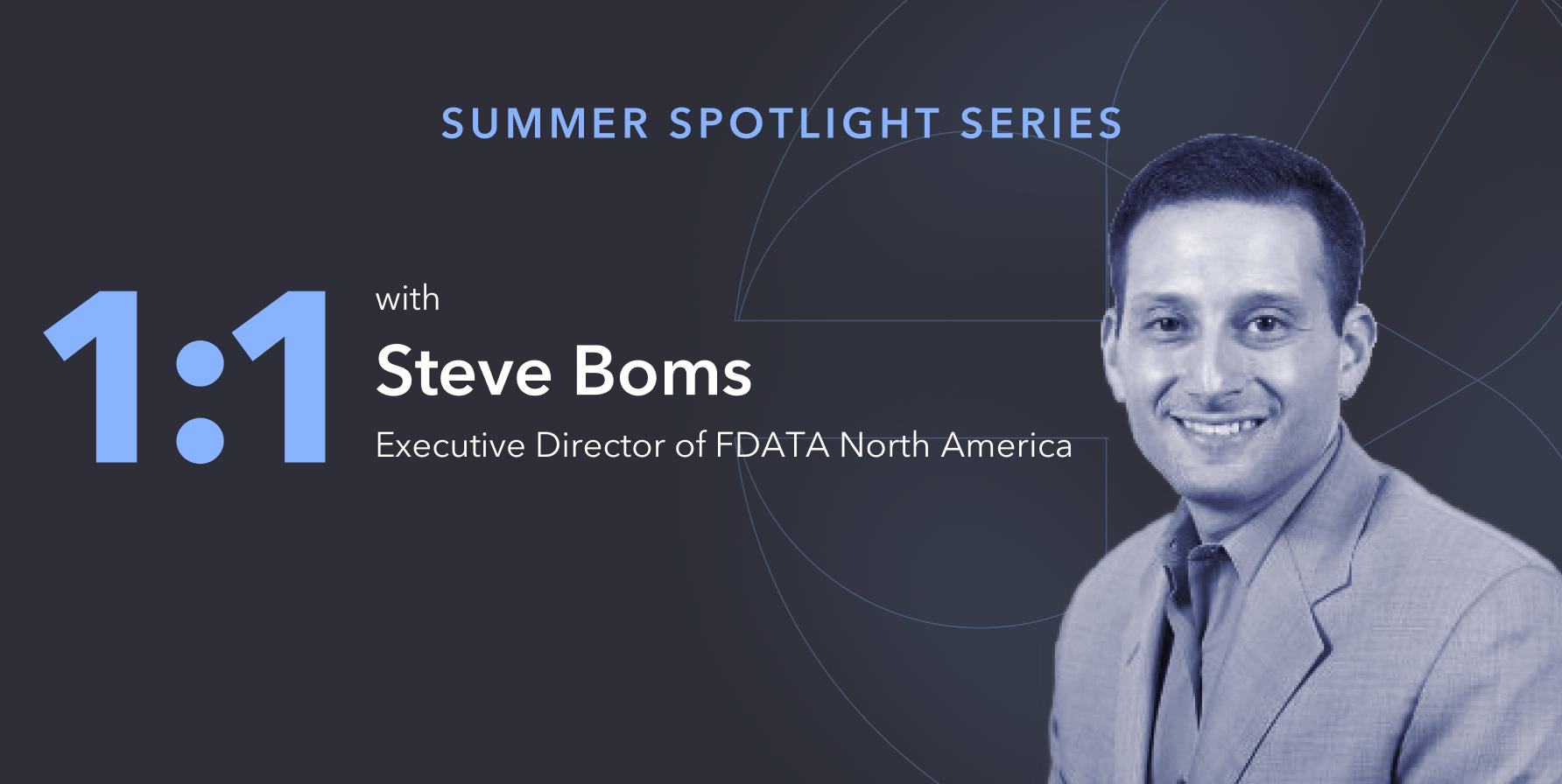 Steve Boms of FDATA