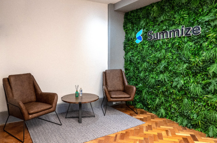 The Summize office