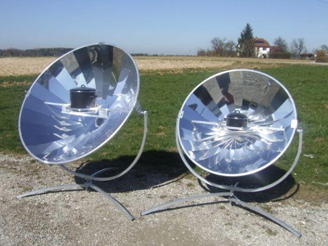 Four solaire, exemple de low tech