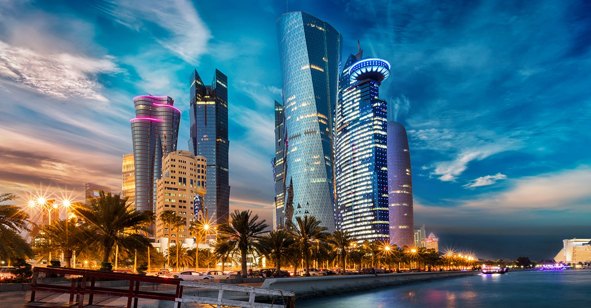Empreinte carbone du Qatar