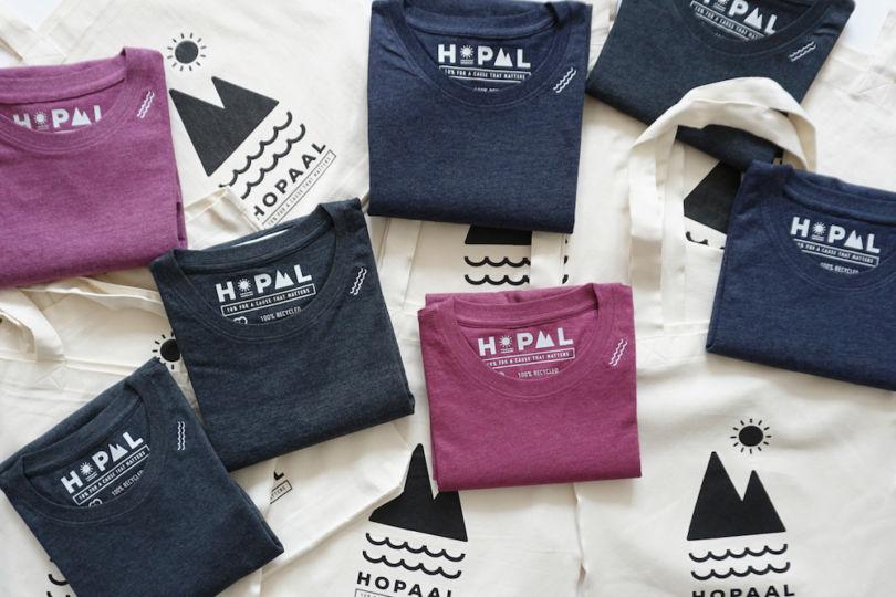 Hopaal : le t-shirt entièrement éco-conçu