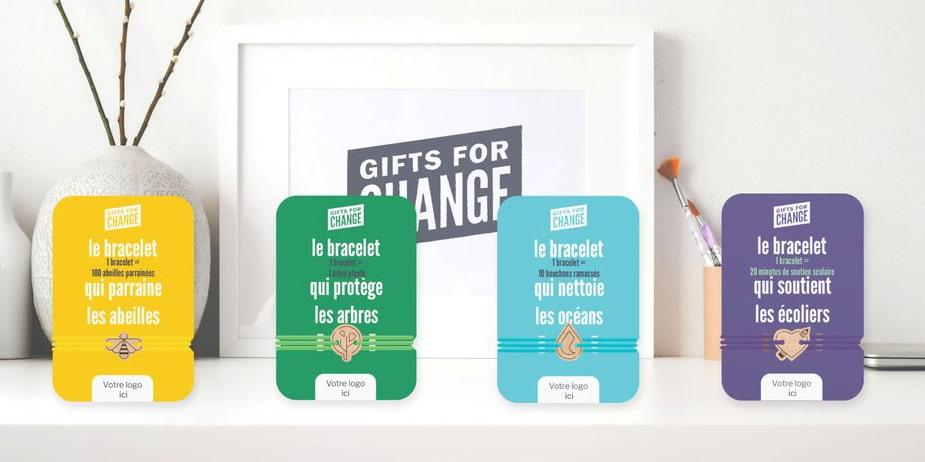 Gifts for Change, pour des cadeaux plus écologiques