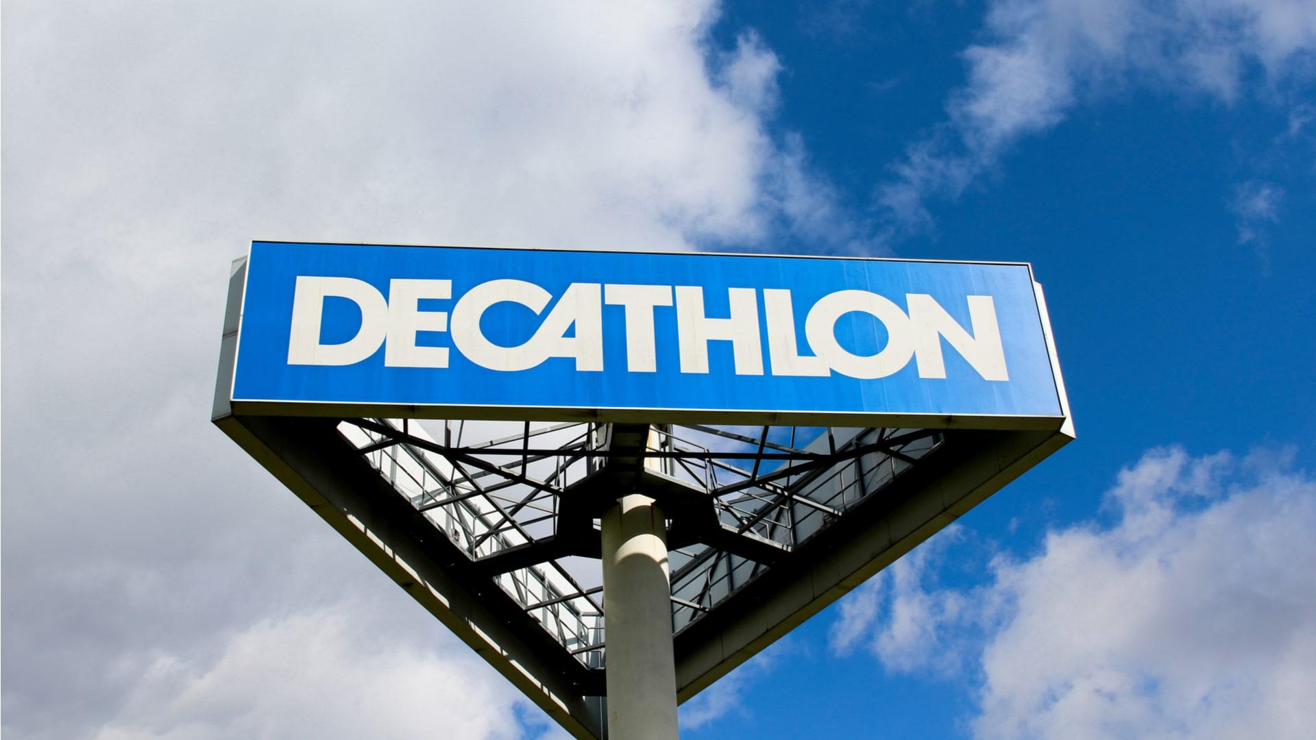 une enseigne Decathlon