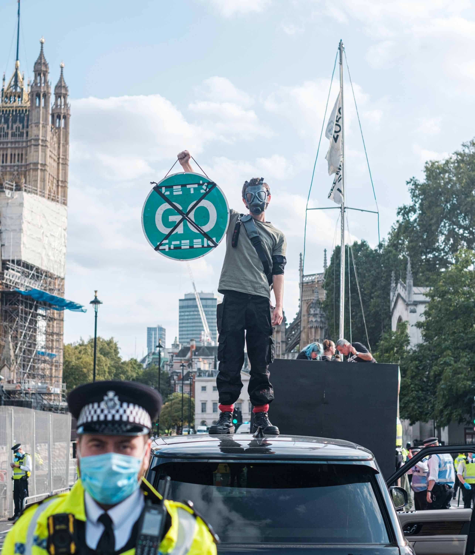 go green climate strike