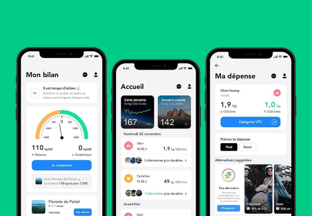 Application mobile Greenly gratuite