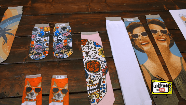 Can You Make Socks With Photos On Them?