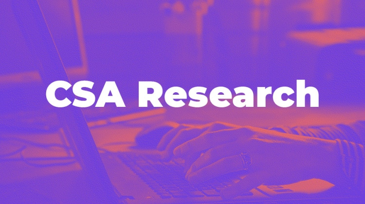CSA Research picture