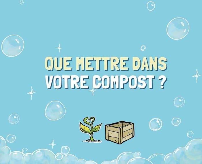 [Infographie] Que mettre dans le compost ?