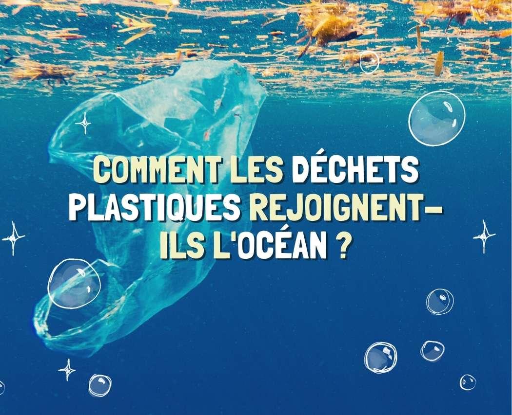 Infographie : Comment nos déchets plastiques rejoignent-ils l'océan ?