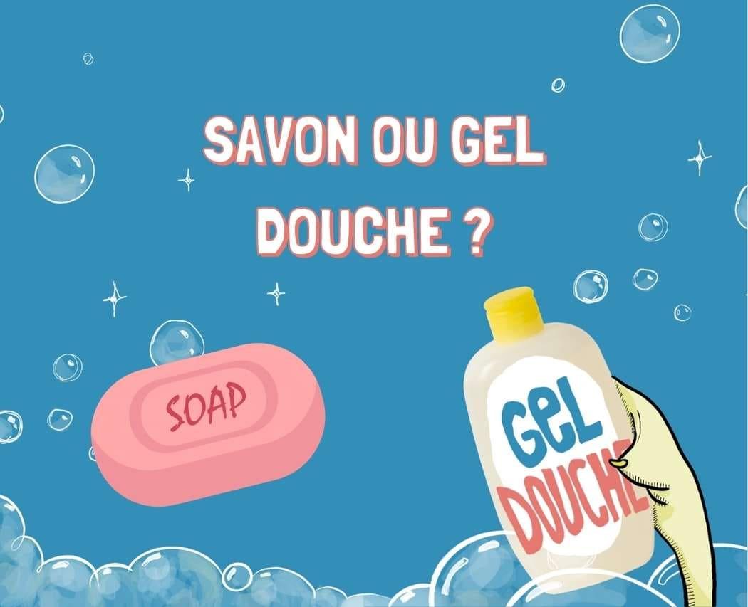 Connais-tu vraiment la différence entre savon solide et gel douche ? Sais-tu lequel privilégier pour le corps ? Pour la planète ? Continue ta lecture et découvre sans plus attendre la réponse à toutes ces questions ! 🤓