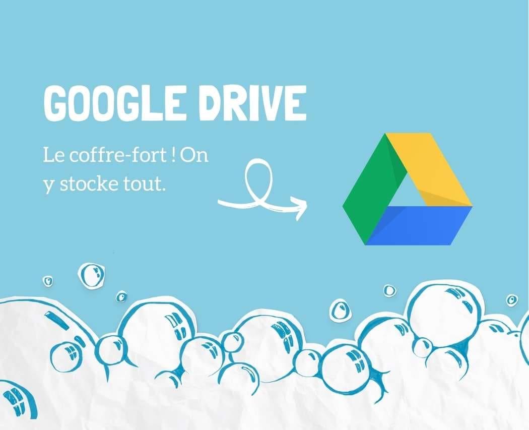 Google Drive outil collaboratif pour creer et stocker ses documents
