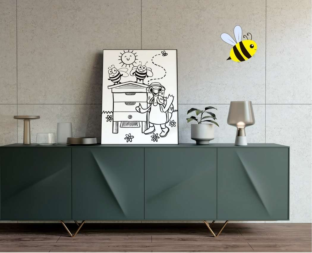 Le printemps est de retour et avec lui, reviennent nos jolies abeilles ! Découvre nos coloriages abeille et apiculture réalisés par Magdalena.
