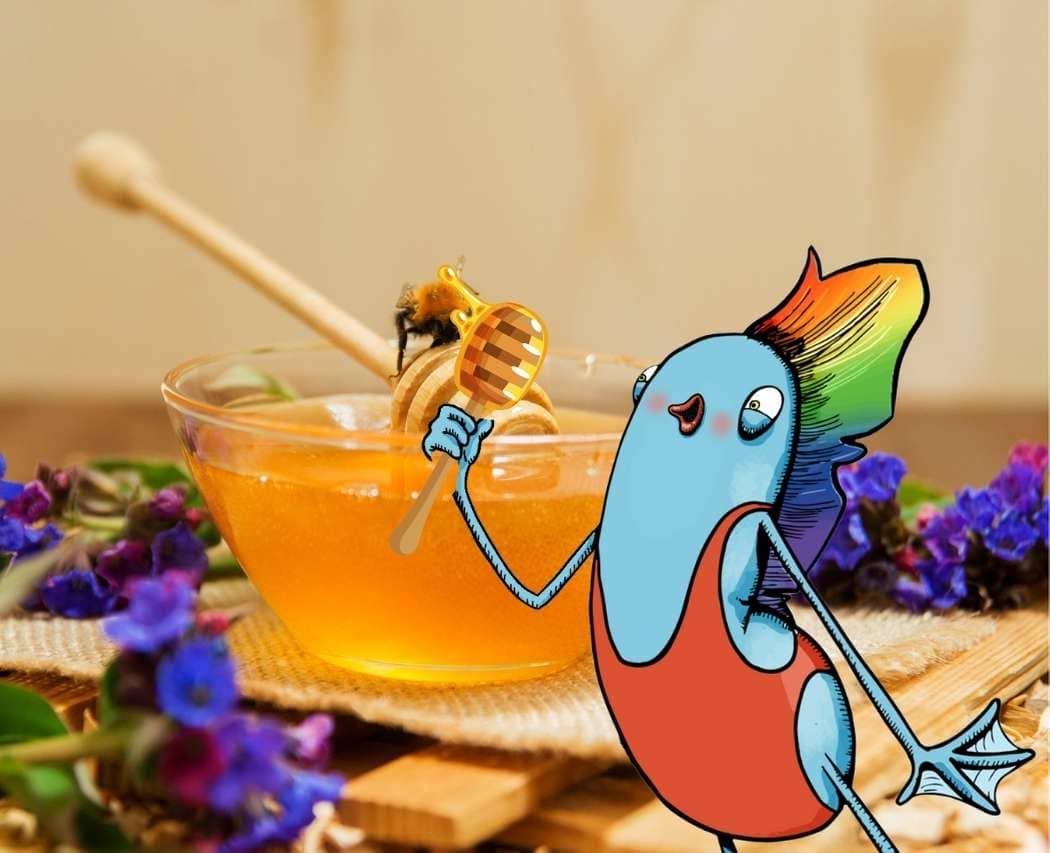 JU decouvre les bienfaits du miel sur sa peau