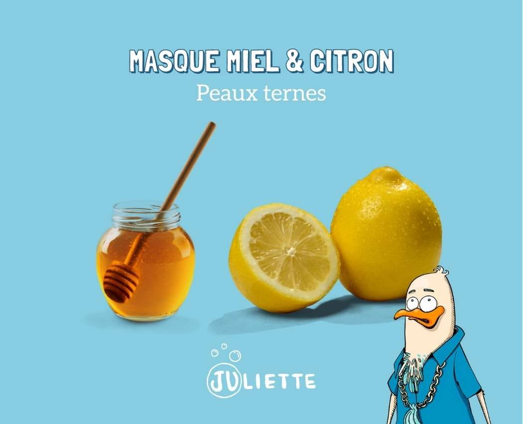 Recette de masque au miel et au citron pour donner un coup d'éclat à la peau