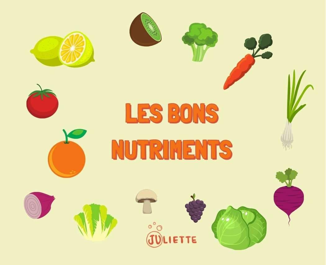 Fruits et legumes de saison bons nutriments pour la sante
