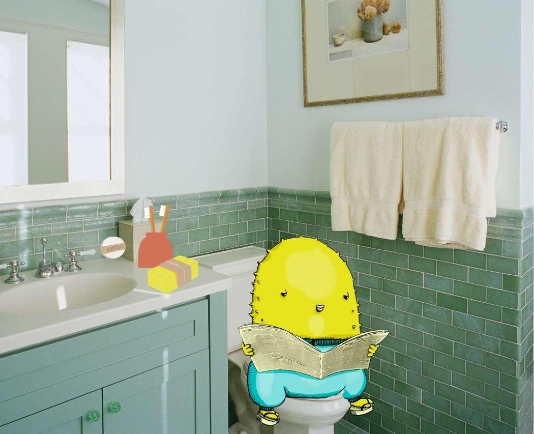 Salle de bain zero dechet savon solide, deodorant, brosse a dents en bois