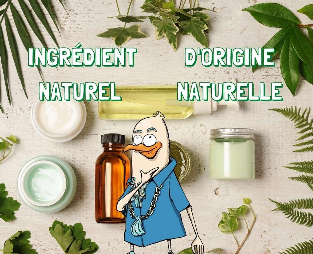 Ingrédients d'origine naturelle VS ingrédients naturels : quelle différence ? Dans cet article nous t'aidons à faire le point parmi toutes ces notions.