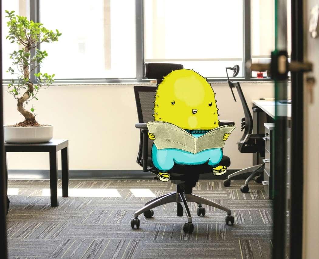 Chaise de bureau ergonomique pour amenager son bureau teletravail
