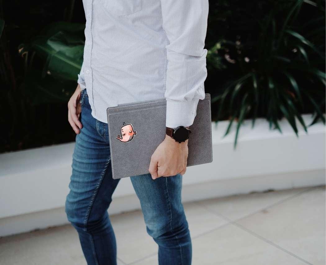 Pochette protection pc portable pour transport coworking