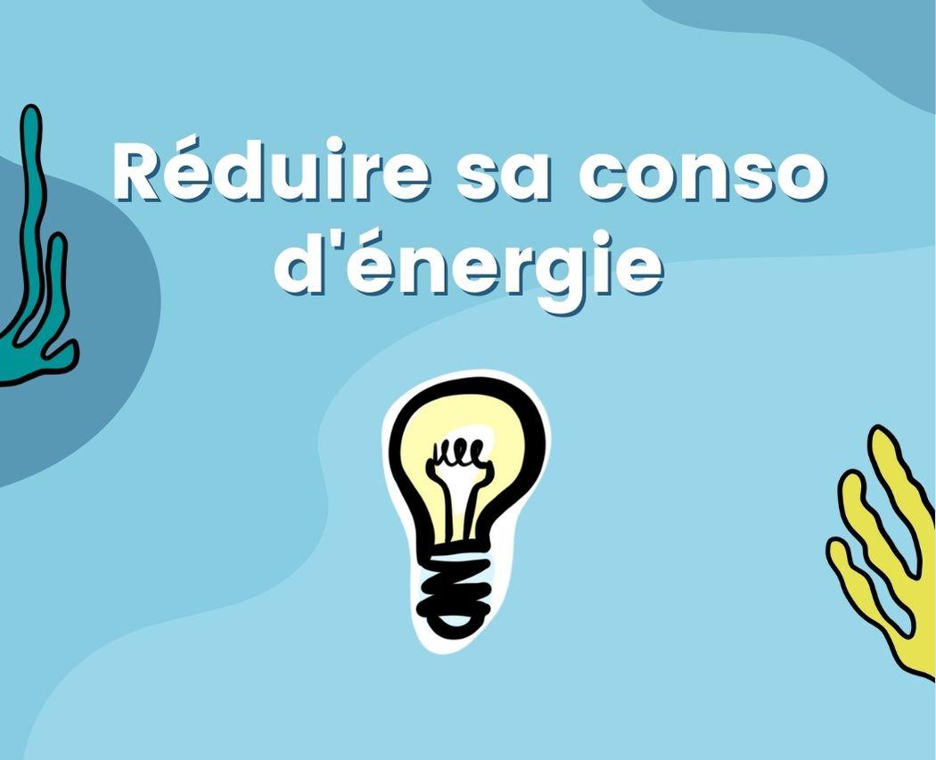 Habitude ecologique reduire consommation d'energie