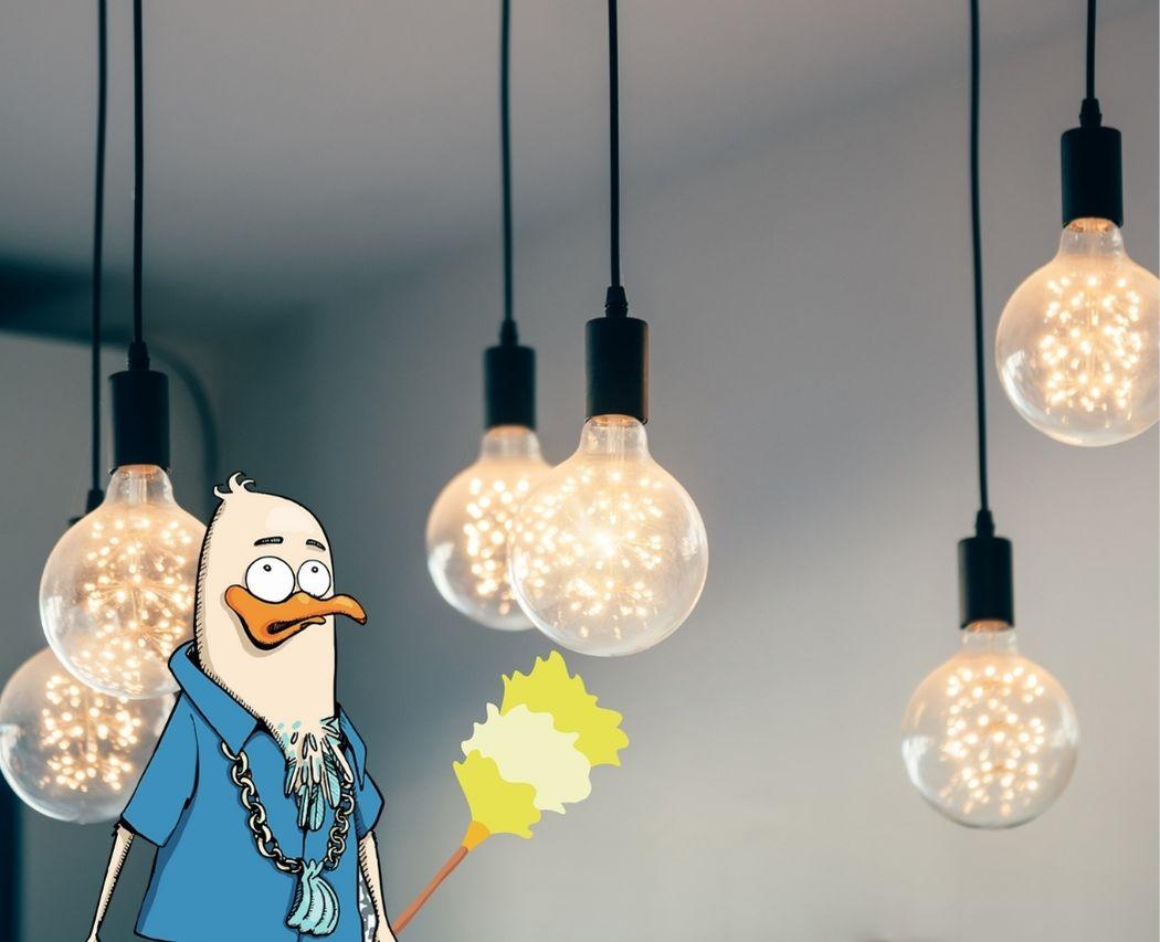 Depoussierer les ampoules pour mieux voir