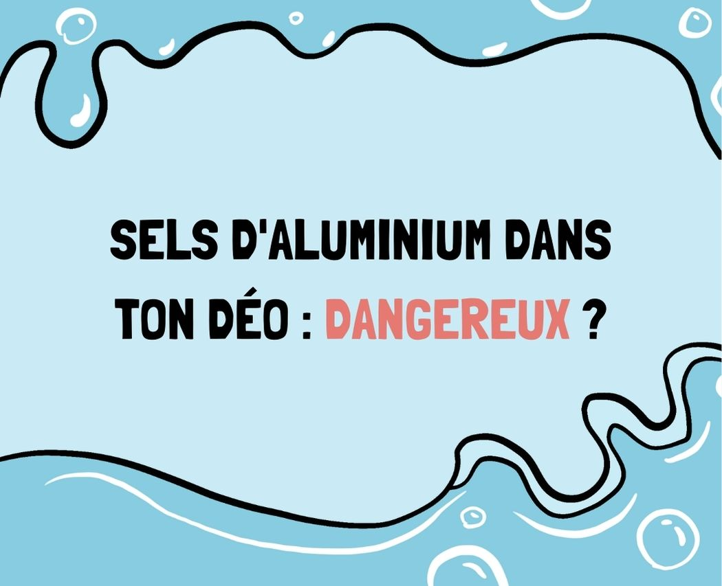 Les sels d'aluminium : dangereux ou non pour la peau et l'environnement ? Dans cet article, on t'explique les origines des sels d'aluminium, leur rôle et leur impact en tant qu'anti-transpirant.