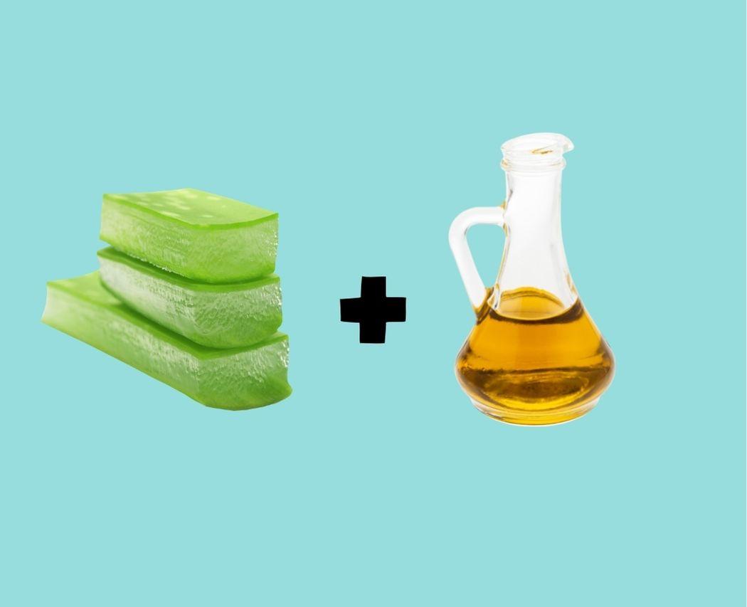 Masque reparateur cheveux aloe vera huile vegetale