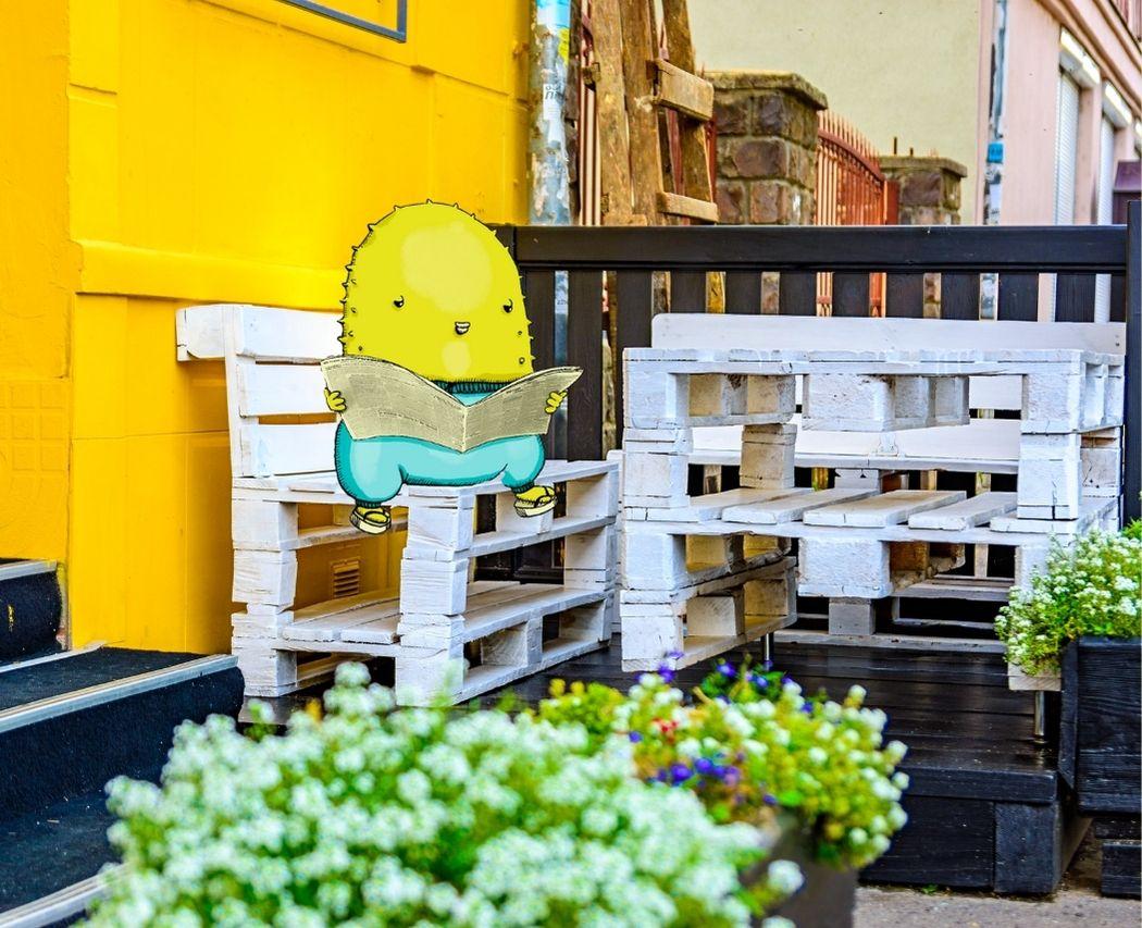 Construire meuble de jardin avec palettes en bois