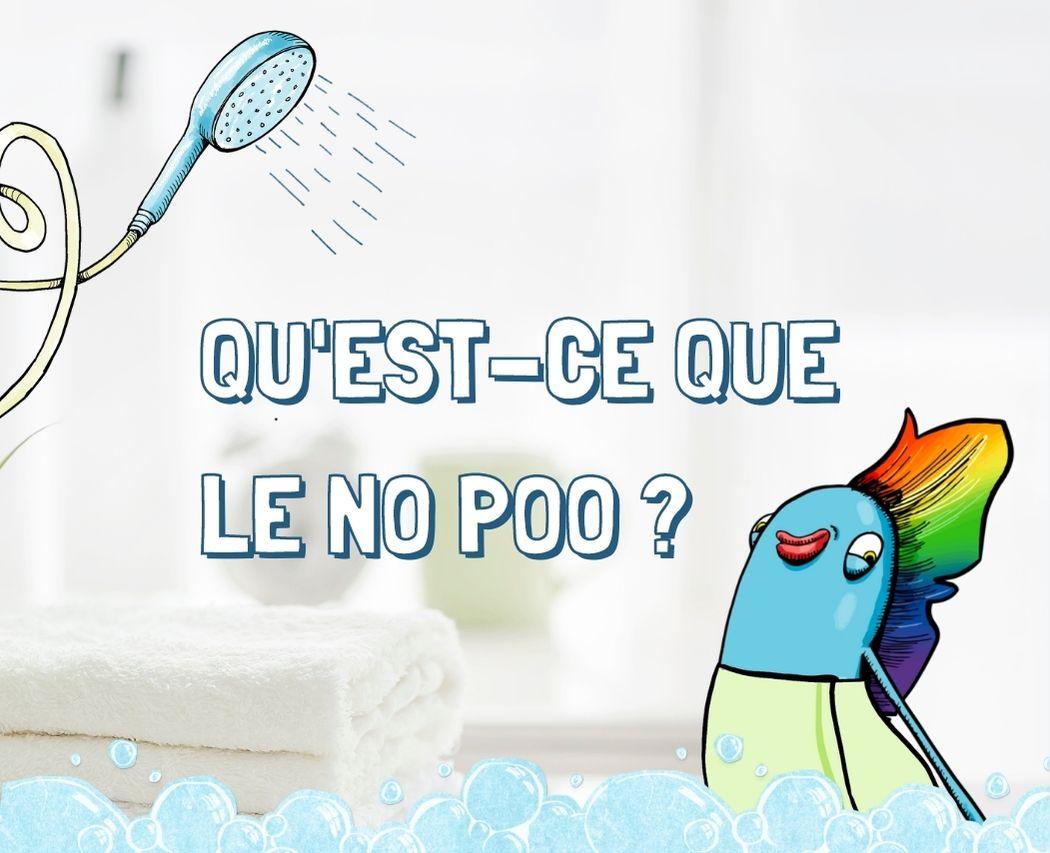 """Laver ses cheveux sans shampoing, c'est possible avec le """"no poo"""" ! Suis-nous pour découvrir cette pratique écolo qui fait du bien à tes cheveux et à la planète"""
