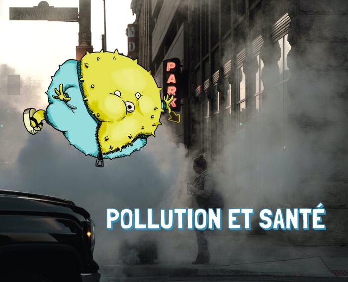 La pollution de l'air a un impact sur la santé humaine. Théodore t'explique quelles sont les origines de cette pollution, comment elle intervient sur notre santé et comment essayer de la réduire !
