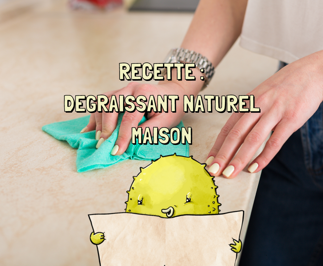 Dégraissant naturel maison à l'argile blanche, la recette